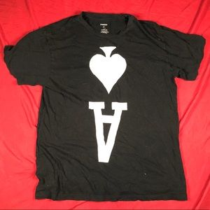 JonnyIV Ace of Spades Graphic T-Shirt